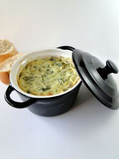 Spinach artichoke dip #appetizer  Did this last night in the crockpot... AMAZING!!!!