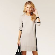 Colourblock Knitted Tunic | The White Company