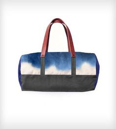 Leather, Waxed  amp  Hand-Dyed Canvas Duffle Bag Canvas Duffle Bag, Canvas e025ebd631