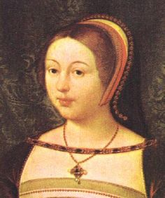 Margaret Tudor, daughter of King Henry VII and Elizabeth of York.
