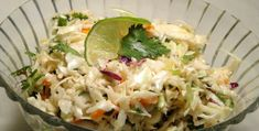 Mexican Coleslaw With Spicy Lime Vinaigrette Recipe - Genius Kitchen