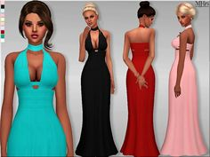 Libertine Gown by Margeh75 at Sims Addictions via Sims 4 Updates