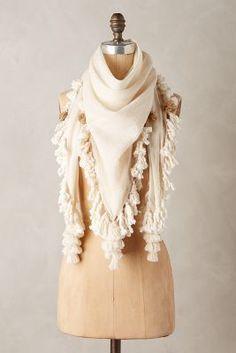 Mimbres Iguazu Scarf  anthropologie  scarf  ivory  fashion  fringe Types Of  Fashion 67a1f55fbf2