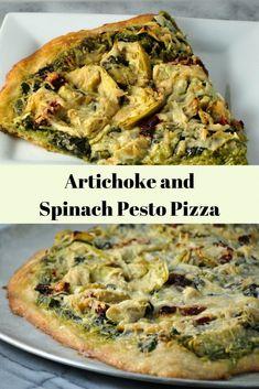 Vegan Recipes Plant Based, Vegan Dinner Recipes, Vegan Dinners, Whole Food Recipes, Vegetarian Recipes, Cooking Recipes, Healthy Recipes, Plant Based Pizza Recipe, Vegan Recipes Spinach