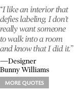 #designerquotes bunny williams