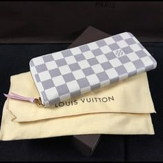 Louis Vuitton Azur Clemence Rose Ballerine Wallet Brand new limited edition! Beautiful Azur with rose ballerine interior. Limited quantities! Comes with box, dust bag and tags. ALSO FEEL FREE TO EMAIL ME AT nfry.9882@gmail.comNO TRADES Louis Vuitton Bags Wallets