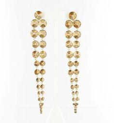 Helens Heart Earrings JE-X006336-G-Topaz Helen's Heart Earrings 💟$45.98 from http://www.www.optbeads.com   #wedding #bridal #bridalgown #mywedding #heart #helens #earrings #helen's #weddingdress