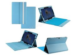 Microsoft Surface Tablet Windows RT Blue PU Leather Keyboard Case Cover with FREE SHIPPING WORLDWIDE!! :) 5 stocks left!!! :) Get it here: https://www.skindigitalstore.com/microsoft-surface-tablet-windows-rt-blue-pu-leather-keyboard-case-cover/