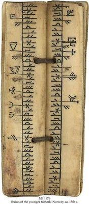 Runes, 15th century, Norway