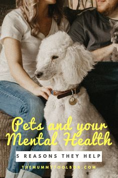 Pets have been a long-time companion to humans. They offer friendship, love, compassion, and a bit of happiness on the gloomiest of days. Recent research would also tell you that pets are beneficial for our mental health as well. In this post, I share 5 reasons they can help you live a happy and stress-free. Click to find out more. #health #pets #wellbeing #mentalhealth #mentalhealthtips #stressreduction #happiness #anxiety #panicattacks #loneliness #animals #themummytoolbox Loneliness, Stress Free, Take Care Of Yourself, Tool Box, Compassion, At Home Workouts, Health Tips, Mental Health, Anxiety