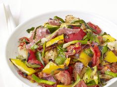 Grilled Panzanella Salad Recipe : Food Network Kitchen : Food Network - FoodNetwork.com