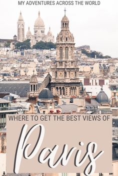 Paris is such an amazing city you won't have troubles taking great photos. Indeed, one of the most fun things to do in Paris is looking for places to get the best Paris view. Read this post to find out where to go for the best views of Paris and the best lookout points in Paris, and when the best time to go is | Views of Paris | Paris views | #paris #traveltips via @clautavani