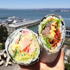 Sushirrito Soothes Even The Most Alien of Taste Buds - #burrito #foodporn #sushi