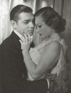 Clark Gable and Joan Crawford for Dancing Lady by George Hurrell, 1933 © John Kobal Foundation