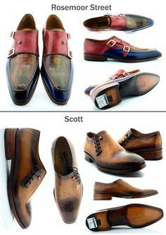 Handmade men luxury footwear