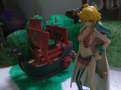 "Nine Snake Pirate Ship from ""One Piece"""