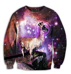 King Llama Sweatshirt