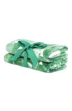 Primark - Pack de 2 toalhas estampado folhas