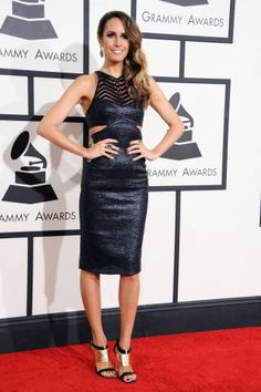 Red Carpet Dresses Grammys 2014 - Celebrities Photos Grammys 2014 - ELLE