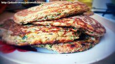 Jedz zdrowo żyj zdrowo: Pancakes'y z cukinii na śniadanie lub obiad