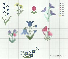 Thrilling Designing Your Own Cross Stitch Embroidery Patterns Ideas. Exhilarating Designing Your Own Cross Stitch Embroidery Patterns Ideas. Tiny Cross Stitch, Cross Stitch Charts, Cross Stitch Designs, Cross Stitch Patterns, Cross Stitch Flowers Pattern, Flower Patterns, Cross Stitching, Cross Stitch Embroidery, Embroidery Patterns