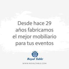 #RoyalTable tiene.... #lomejorparatuseventos💯 Somos especialistas en #mobiliarioparabanquetes.🔝 Contamos con venta y renta de equipo para los mejores eventos, venta de equipo para la industria de #banquetes #hoteles #restaurantes 🍽 #Sillas #Mesas #Periqueras #SalasLounge #vajillas #Cristaleria #Manteleria #CopasdeColor #Equipodeservicio #Sombrillas #Banquetes #catering #Eventos #Alquiler #Mexico #MobiliarioParaBanquetes #Rentademobiliario #Ventademobiliario #Sillas #RentaDeSillas Salas Lounge, Royal Table, Catering Events, Hotels, Restaurants, Catering Services
