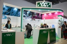 GC Asia Exhibit Stand #pda #expo #exhibit #tradeshows Trade Show, Exhibit, Asia, Display, Design, Floor Space, Billboard, Design Comics