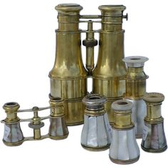 Opera Glasses And Binoculas | From a unique collection of antique and modern more antique and vintage finds at http://www.1stdibs.com/furniture/more-furniture-collectibles/more-antique-vintage-finds/