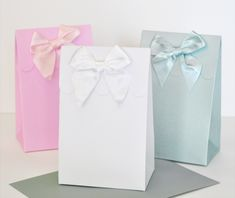 Sweet Shoppe Candy Boxes - DIY Blank (set of 12) wedding favors