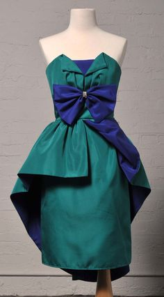 Totally 80's Valley Girl Prom Dress by LauraDarlingDeluxe on Etsy, $15.00