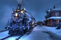 Snow Train, British Columbia, Canada photo via model