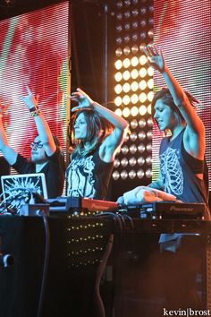 Krewella...my guilty pleasure.  They're like nothing else I listen to and, for some reason, I love them