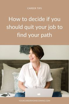 If you have been wanting to change careers but you're not sure if you need to take time off work in order to discover the right career for you, then this post is for you. This post will help you decide if you should take time off from work! how to quit your job | quit your job | hate your job Find A Career, Career Change, New Career, Find A Job, Career Advice, New Job, Hating Your Job, Finding Purpose, Career Planning