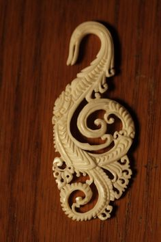 4 gauge hand carved bone by thegypsiescaravan on Etsy