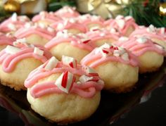 Peppermint Meltaways: These look almost too pretty to eat, for sure.