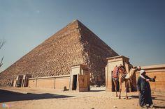 Đường đi xuống lòng kim tự tháp Giza hướng thẳng tới sao Bắc đẩu có tên Alpha Draconis. Bên trong các kim tự tháp Ai Cập, nhiệt độ luôn ở mức ổn định, khoảng 20 độ C.