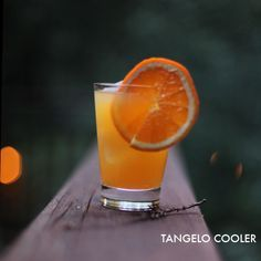 Tangelo Cooler. Like a creamsicle but you can't stand up afterward.| Mighty Girl