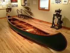 Old Town Canoe: spent many an early morning fishing out of one just like this on Lake James. Ah memories!