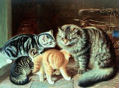 Cats in Art « For The Love Of Cats