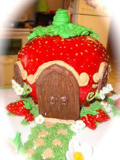 Delícia Cakes: Strawberry Shortcake House