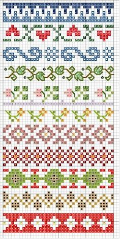 Thrilling Designing Your Own Cross Stitch Embroidery Patterns Ideas. Exhilarating Designing Your Own Cross Stitch Embroidery Patterns Ideas. Fair Isle Knitting Patterns, Bead Loom Patterns, Knitting Charts, Knitting Stitches, Beading Patterns, Embroidery Patterns, Sock Knitting, Paper Embroidery, Knitting Machine