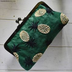 Pineapple pouch by Yumiko Higuchi