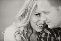Katherine & Tyler - a rooftop movie engagement session | Tara Whittaker Photography