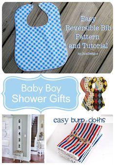 37 Handmade Baby Boy shower gift ideas!