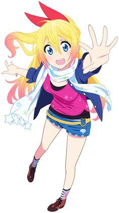 Chitoge Kirisaki Vector - Nisekoi by Starsilvery on DeviantArt Nisekoi, Tsundere, Sailor Moon, Anime Manga, Anime Art, Card Captor, Pokemon, Cute Anime Pics, Kawaii Girl