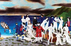 Artworks offering a new take on Acadian history, including the 1755 Expulsion, have entered the collection of the National Gallery of Canada in a move that may help silence New Brunswickers' perennial criticisms of the federal art institution in Ottawa Pat Mcgrath, New Brunswick, Concept, History, Artwork, Painting, News, Google, Inspiration