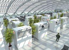 Sleepbox at Sheremetyevo International Airport in Moscow