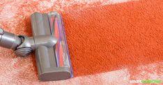 Pokud koberec vypadá špinavě a namáhavě, nepotřebujete drahý speciální čistič.  S domácím čisticím prostředkem z domácích prostředků se znovu dostane do čistoty!
