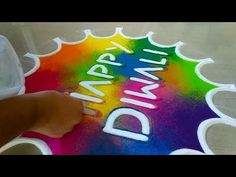 Rangoli is an art form, originating in the Indian subcontinent, in which patterns are created on the floor in living rooms or courtyards using materials such. Happy Diwali Rangoli, Diwali Special Rangoli Design, Rangoli Designs Diwali, Diwali Diy, Rangoli Designs Latest, Colorful Rangoli Designs, Rangoli Designs Images, Beautiful Rangoli Designs, Latest Rangoli