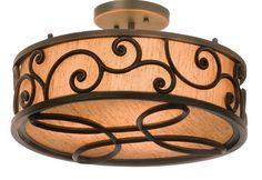 Windsor Semi Flush Ceiling Light